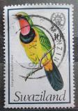 Poštovní známka Svazijsko 1976 Telephorus viridis Mi# 241