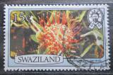 Poštovní známka Svazijsko 1980 Leucospermum gerrardii Mi# 347