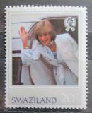Poštovní známka Svazijsko 1982 Princezna Diana Mi# 404