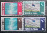 Poštovní známky Tristan da Cunha 1968 Mapy a vlajky Mi# 120-23