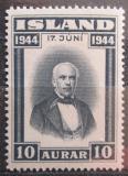 Poštovní známka Island 1944 Jón Sigurdsson Mi# 231