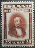 Poštovní známka Island 1944 Jón Sigurdsson Mi# 232