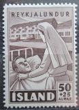 Poštovní známka Island 1949 Sestra s pacientem Mi# 256