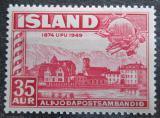 Poštovní známka Island 1949 UPU, 75. výročí Mi# 260
