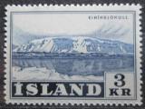 Poštovní známka Island 1957 Eiriksjokull Mi# 317