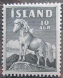 Poštovní známka Island 1958 Kůň Mi# 325