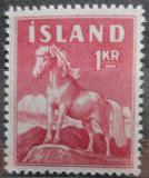 Poštovní známka Island 1960 Kůň Mi# 342