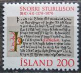 Poštovní známka Island 1979 Heimskringla Mi# 546