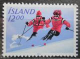 Poštovní známka Island 1983 Lyžování Mi# 603