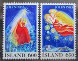 Poštovní známky Island 1983 Vánoce Mi# 608-09