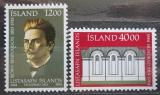 Poštovní známky Island 1984 Národní galerie, 100. výročí Mi# 622-23