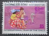 Poštovní známka Srí Lanka 1979 Mezinárodní rok dětí Mi# 501