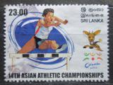 Poštovní známka Srí Lanka 2002 Atletika, překážkový běh Mi# 1350