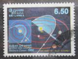Poštovní známka Srí Lanka 1986 Halleyova kometa Mi# 734