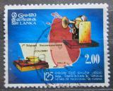 Poštovní známka Srí Lanka 1983 Světový rok telekomunikace Mi# 625