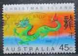 Poštovní známka Vánoční ostrov 2000 Čínský nový rok, rok draka Mi# 470