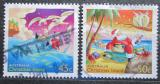 Poštovní známky Vánoční ostrov 2003 Vánoce Mi# 515-16