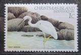 Poštovní známka Vánoční ostrov 1982 Volavka pobřežní Mi# 154