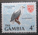 Poštovní známka Gambie 1966 Orel jasnohlasý Mi# 215