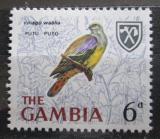 Poštovní známka Gambie 1966 Treron waalia Mi# 216