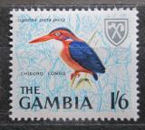 Poštovní známka Gambie 1966 Ledňáček trpasličí Mi# 218