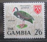 Poštovní známka Gambie 1966 Kachna ostruhatá Mi# 219