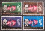 Poštovní známky Tristan da Cunha 1966 Winston Churchill Mi# 92-95