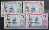 Poštovní známky Tristan da Cunha 1966 Lodě Mi# 96-99