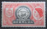Poštovní známka Bermudy 1953 První známka Bermud Mi# 131