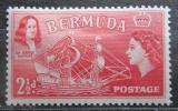 Poštovní známka Bermudy 1953 Plachetnice a George Somers Mi# 134