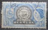 Poštovní známka Bermudy 1953 První známka Bermud Mi# 136
