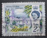 Poštovní známka Bermudy 1962 Kostel svatého Petra v St. George Mi# 163 X