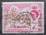 Poštovní známka Bermudy 1962 Katedrála v Hamiltonu Mi# 165 X