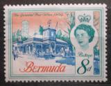 Poštovní známka Bermudy 1962 Hlavní pošta v Hamiltonu Mi# 168 X