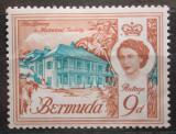 Poštovní známka Bermudy 1962 Knihovna a historické budovy Mi# 169 X