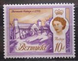 Poštovní známka Bermudy 1962 Architektura Mi# 170 X