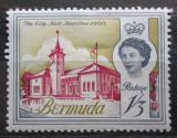 Poštovní známka Bermudy 1962 Radnice v Hamiltonu Mi# 172 X