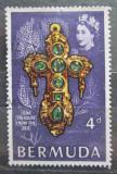 Poštovní známka Bermudy 1969 Zlatý kříž Mi# 223