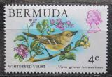 Poštovní známka Bermudy 1978 Vireo griseus bermudianus Mi# 353