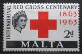 Poštovní známka Malta 1963 Červený kříž, 100. výročí Mi# 283