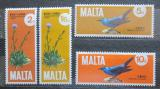 Poštovní známky Malta 1971 Fauna a flóra Mi# 429-32