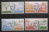 Poštovní známky Malta 1974 UPU, 100. výročí Mi# 497-500