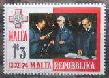 Poštovní známka Malta 1975 Prezident Anthony Mamo Mi# 505