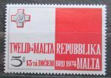 Poštovní známka Malta 1975 Státní vlajka Mi# 506