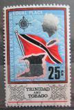 Poštovní známka Trinidad a Tobago 1969 Státní vlajka Mi# 236