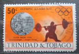 Poštovní známka Trinidad a Tobago 1972 LOH Mnichov, vzpírání Mi# 310