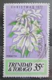 Poštovní známka Trinidad a Tobago 1977 Vánoce, pryšec nádherný Mi# 359