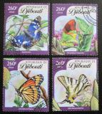 Poštovní známky Džibutsko 2016 Motýli Mi# 824-27 Kat 12€