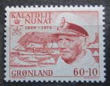 Poštovní známka Grónsko 1972 Král Frederik IX. Mi# 81