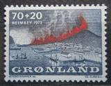 Poštovní známka Grónsko 1973 Erupce sopky na Heimaey Mi# 86